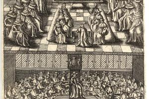 Parliament in 1643, from An Exact Collection of all Remonstrances...